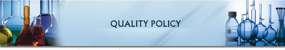 RCA Analytical Laboratories: QUALITY POLICY
